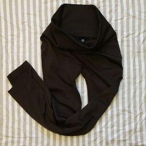 Thermal fleece lined leggings